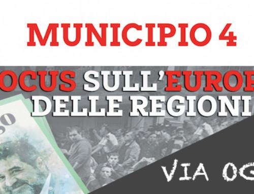 """CICLO DI EVENTI """"FOCUS SULL'EUROPA DELLE REGIONI""""   A MILANO DAL 28 SETTEMBRE AL 26 OTTOBRE 2018"""