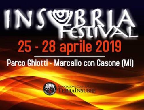 INSUBRIA FESTIVAL 2019 A MARCALLO CON CASONE DAL 25 AL 28 APRILE