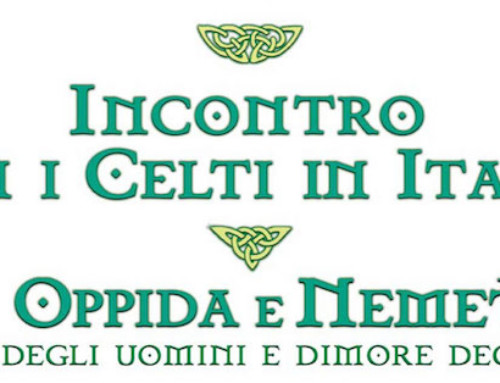 INCONTRO CON I CELTI IN ITALIA IL 10 NOVEMBRE A CARATE BRIANZA (MB)