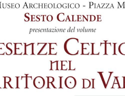 """PRESENTAZIONE """"PRESENZE CELTICHE"""" A SESTO CALENDE IL 12 OTTOBRE 2019"""